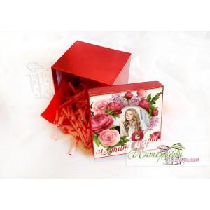 Кутийка с късметчета - Цветя за 8 Март