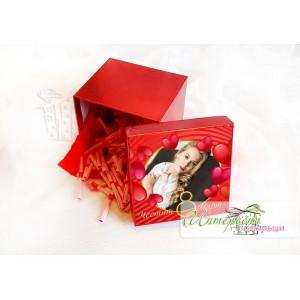 Кутийка с късметчета - Сърца за 8 Март
