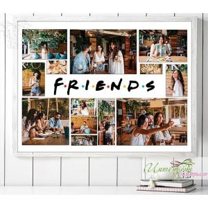 Колаж от снимки - Friends