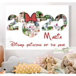 Колаж от снимки Дисни - Година - Мини