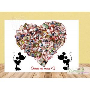 Колаж от снимки Дисни - Сърце