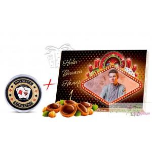 Пакет - бонбони и покер гард - Червено