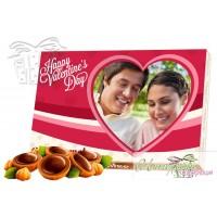 Бонбони със снимка - Обичам те