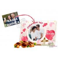 Кутия бонбони - Любов - Подаръци и сърца