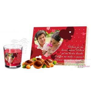 Романтичен пакет - Сърца - Червени