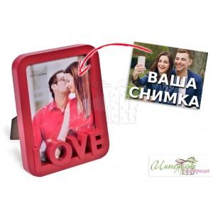 Рамка за снимки - Love