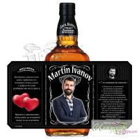Етикет за уиски - Джак Даниелс със снимка