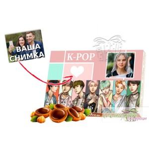 Бонбони със снимка - Kpop
