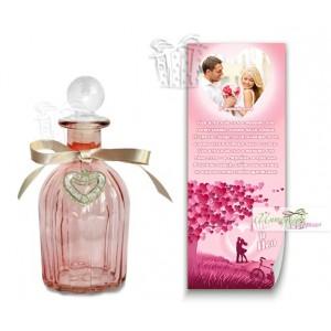 Писмо в бутилка с ваша снимка - Романтично