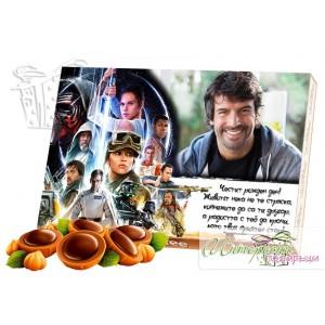Кутия бонбони със снимка - Star Wars
