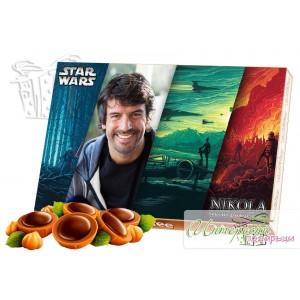 Кутия бонбони със снимка - Междузвездни войни