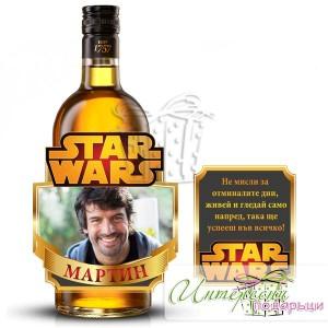 Етикет за бутилка - Междузвездни войни