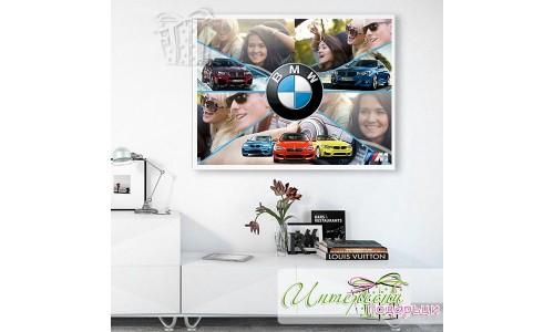 Фотоколаж за автомобилни фенове - BMW