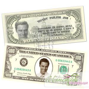 Банкнота с ваша снимка - 100 долара