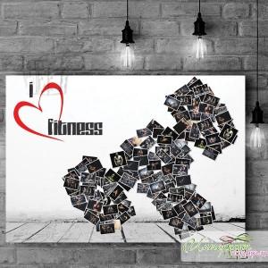 Фото-колаж със снимки- Collage - Фитнес
