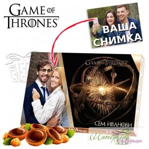 Кутия бонбони със снимка - Game of thrones
