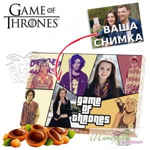 Кутия бонбони със снимка - GOT