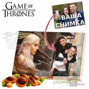 Кутия бонбони със снимка - Игра на тронове - Денерис