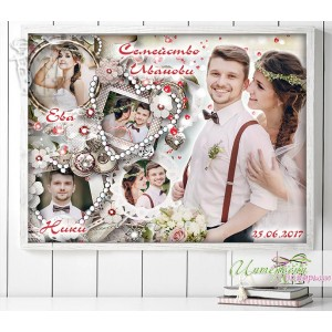 Колаж от снимки - Сватбени перли