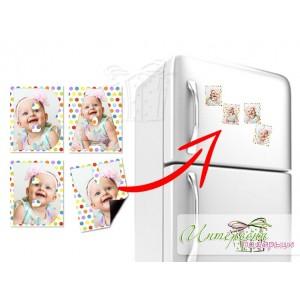 Магнитен надпис за хладилник - BABY