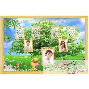 Фото-колаж - Родословно дърво - Дисни