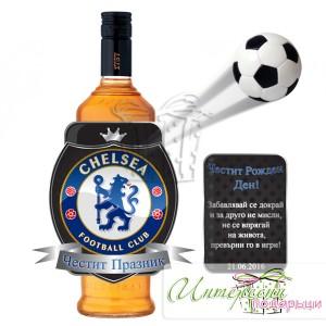 Етикет за бутилка - Chelsea F.C.